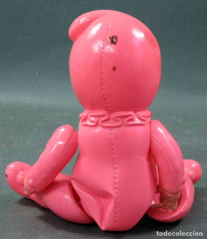 Muñecas Celuloide: Bebé duende rosa celuloide japonés Made in Japan años 50 - Foto 4 - 166412922