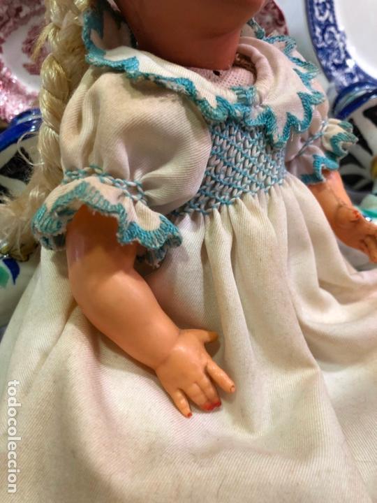 Muñecas Celuloide: ANTIGUA MUÑECA DE CARTON PIEDRA Y CELULOIDE años 40 - MEDIDA 30 CM - Foto 4 - 170118816