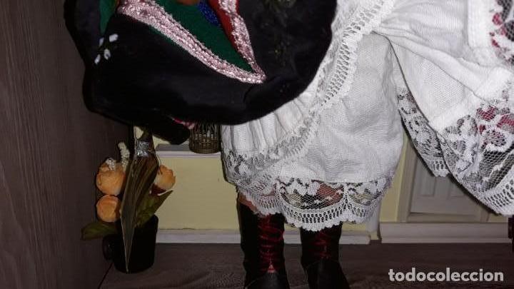 Muñecas Celuloide: Preciosa Muñeca Antigua de Polonia ,con la etiqueta clavada en la ropa . - Foto 5 - 171759978