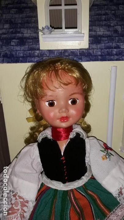 Muñecas Celuloide: Preciosa Muñeca Antigua de Polonia ,con la etiqueta clavada en la ropa . - Foto 2 - 171759978