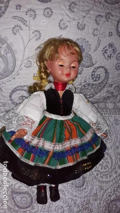Muñecas Celuloide: Preciosa Muñeca Antigua de Polonia ,con la etiqueta clavada en la ropa . - Foto 3 - 171759978