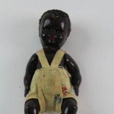 Muñecas Celuloide: MUÑECO DE CELULOIDE CON VESTIDO. OJOS DURMIENTES. AÑOS 40.. Lote 172698162