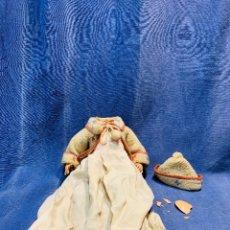 Muñecas Celuloide: MUÑECA CELULOIDE ALEMANA MARCA TORTUGA VESTIDO Y GORRO 28X20CMS. Lote 172883464