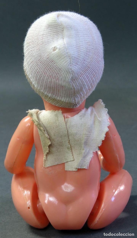 Muñecas Celuloide: Bebé celuloide ojo durmiente años 50 18 cm alto - Foto 3 - 181753950