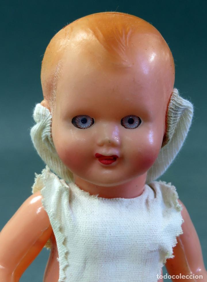 Muñecas Celuloide: Bebé celuloide ojo durmiente años 50 18 cm alto - Foto 5 - 181753950