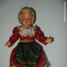Muñecas Celuloide: PRECIOSA MUÑECA DE CELULOIDE REGIONAL EUROPEA ALEMANA?. Lote 182291120