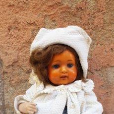 Bonecas Celuloide: MUÑECA BEBE MARCA SCHUTZ MARKE S/36. Lote 182482788