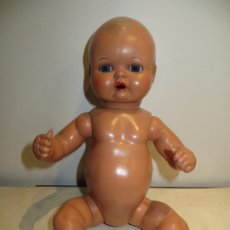 Bonecas Celuloide: MUÑECO BEBE EN CELULOIDE IMPECABLE ESTADO DE 35CMS ALTO CON MECANISMO EN ESPALDA,BARATO. Lote 182771768