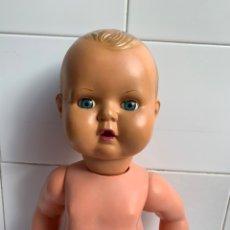 Muñecas Celuloide: MUÑECO ANTIGUO. CELULOIDE TAMAÑO GRANDE. Lote 182902666