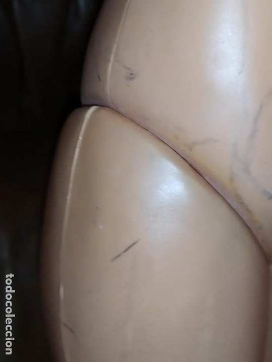 Muñecas Celuloide: OJOS DURMIENTES MUÑECA SIN MARCA AGRADECE INFO CARA CELULOIDE ANTIGUA VINTAGE PELO CREPE GUAPA GRAN - Foto 10 - 186062706