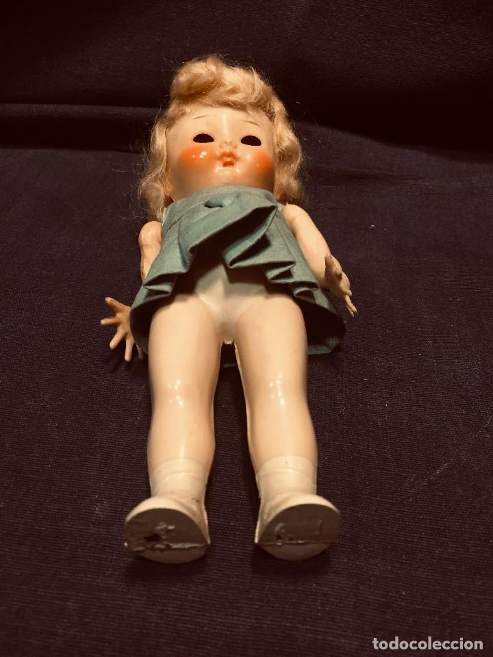 Muñecas Celuloide: muñeca inglesa celuloide pedigree made in england 18x6cms - Foto 7 - 192839817