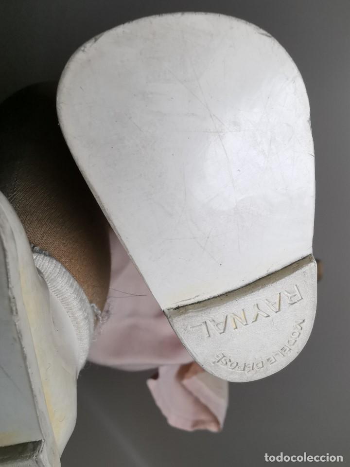 Muñecas Celuloide: Bebé Raynal celuloide cuerpo trapo..43 cm ojos oscilantes-francia años 40 - Foto 17 - 193740175