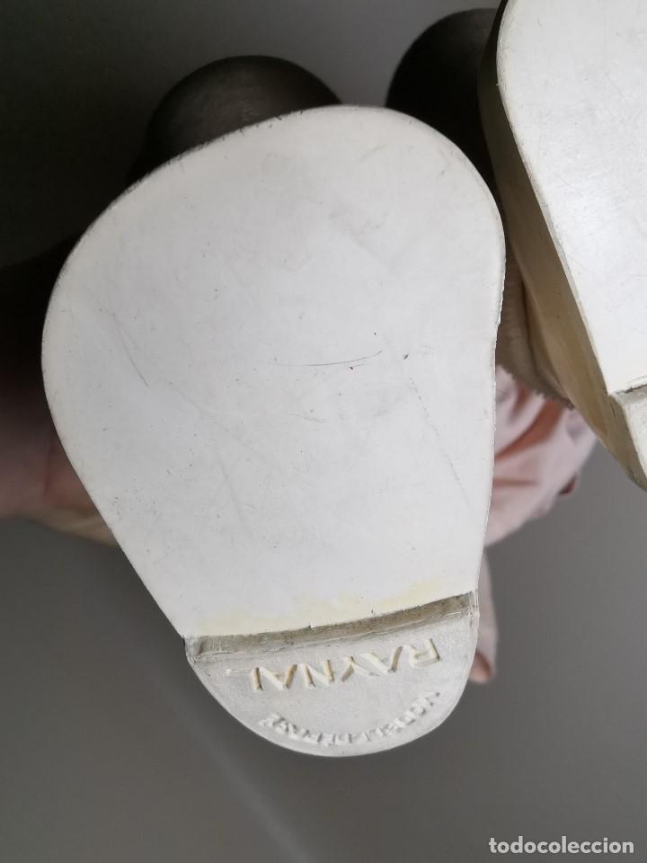 Muñecas Celuloide: Bebé Raynal celuloide cuerpo trapo..43 cm ojos oscilantes-francia años 40 - Foto 18 - 193740175
