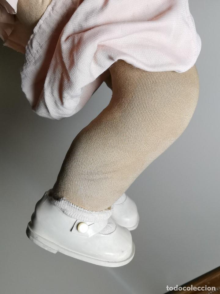 Muñecas Celuloide: Bebé Raynal celuloide cuerpo trapo..43 cm ojos oscilantes-francia años 40 - Foto 20 - 193740175