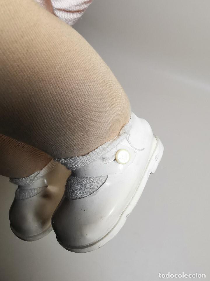 Muñecas Celuloide: Bebé Raynal celuloide cuerpo trapo..43 cm ojos oscilantes-francia años 40 - Foto 36 - 193740175