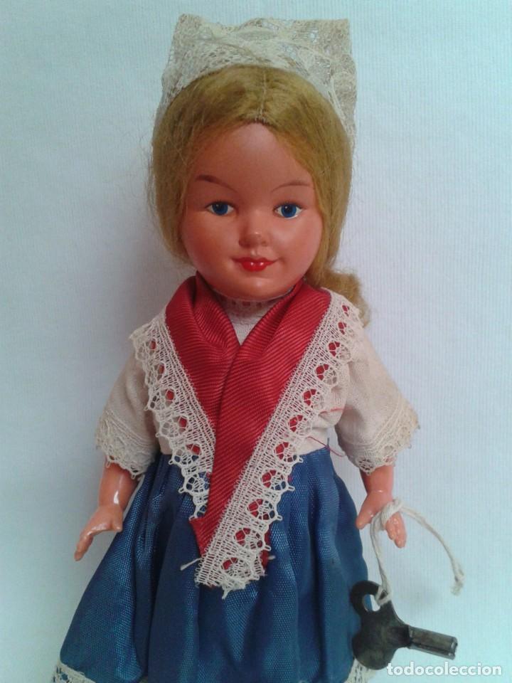 Muñecas Celuloide: Antigua muñeca de celuloide a cuerda - Foto 2 - 194144630