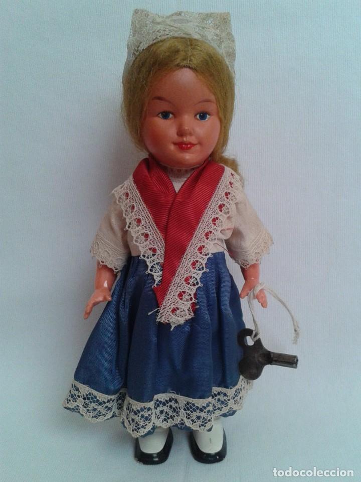 Muñecas Celuloide: Antigua muñeca de celuloide a cuerda - Foto 3 - 194144630