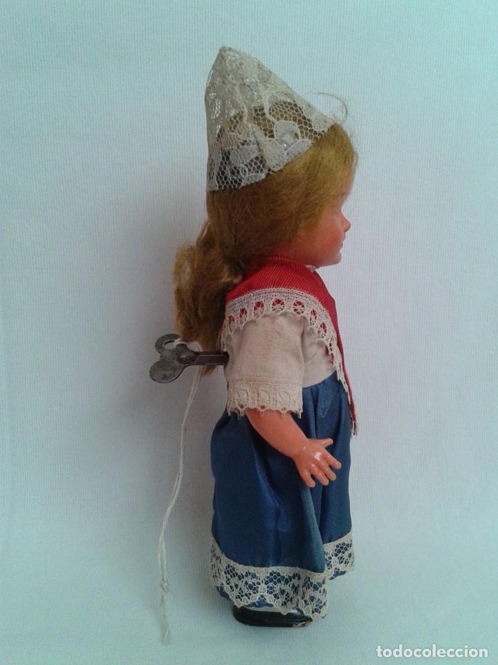 Muñecas Celuloide: Antigua muñeca de celuloide a cuerda - Foto 5 - 194144630