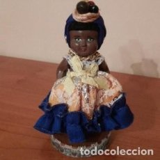 Muñecas Celuloide: PRECIOSA MUÑECA ANTIGUA BRASIL. Lote 194197536