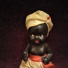Muñecas Celuloide: MUÑECO NEGRITO ANTIGUO. Lote 195586615