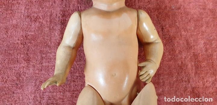 Muñecas Celuloide: MUÑECA DE CELULOIDE. SCHUTZ MARKE. ALEMANIA. PELO NATURAL. SIGLO XX. - Foto 7 - 196488641