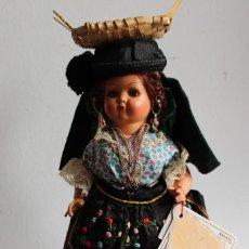Muñecas Celuloide: MUÑECA DE CELULOIDE MARCA PIMAR - NAZARENA DE PORTUGAL. Lote 197834541