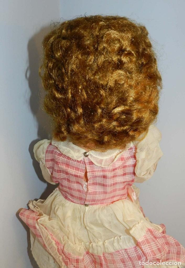 Muñecas Celuloide: Impecable muñeca italiana,MI GLIORATI años 40, lleva la etiqueta colgada en la man - Foto 5 - 197873172