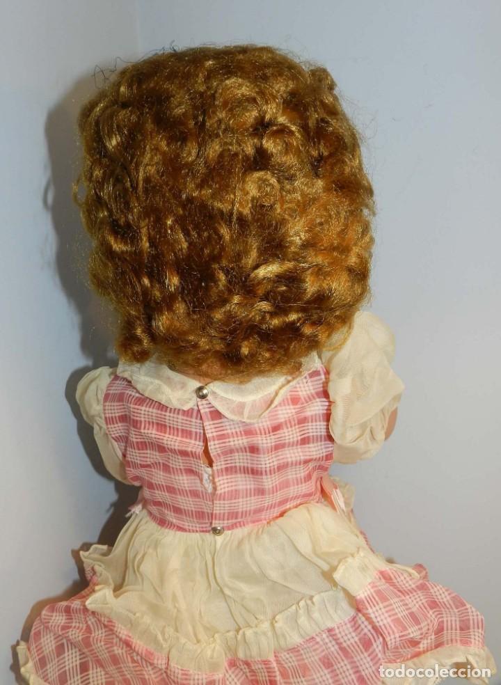 Muñecas Celuloide: Impecable muñeca italiana,MI GLIORATI años 40, lleva la etiqueta colgada en la man - Foto 6 - 197873172