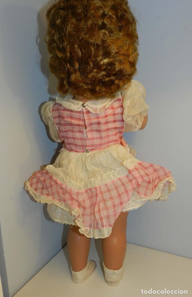 Muñecas Celuloide: Impecable muñeca italiana,MI GLIORATI años 40, lleva la etiqueta colgada en la man - Foto 7 - 197873172