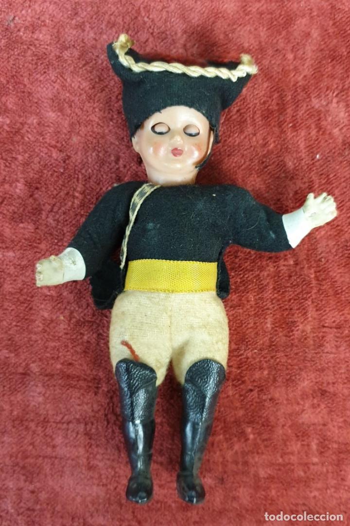 Muñecas Celuloide: PAREJA DE MUÑECAS DE CELULOIDE. OJOS BASCULANTES. ESPAÑA. SIGLO XX. - Foto 4 - 197989850