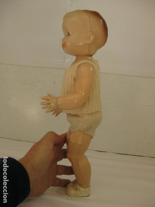 Muñecas Celuloide: BEBE RODDY - ANDANTE Y OJOS DURMIENTES - CELULOIDE ENGLAND - Foto 4 - 200240120