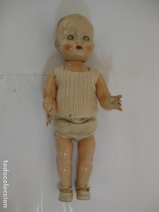 Muñecas Celuloide: BEBE RODDY - ANDANTE Y OJOS DURMIENTES - CELULOIDE ENGLAND - Foto 6 - 200240120