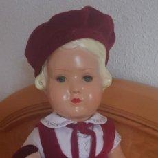 Muñecas Celuloide: MUÑECA FRANCESA CELULOIDE AÑOS 50. Lote 207775622