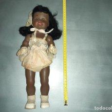 Muñecas Celuloide: MUÑECA NEGRITA CELULOIDE ANTIGUA PIN UP. Lote 208892313