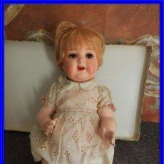 Muñecas Celuloide: FANTASTICA MUÑECA ANTIGUA ALEMANA MARCADA GERMANY EN LA NUCA. Lote 209182883