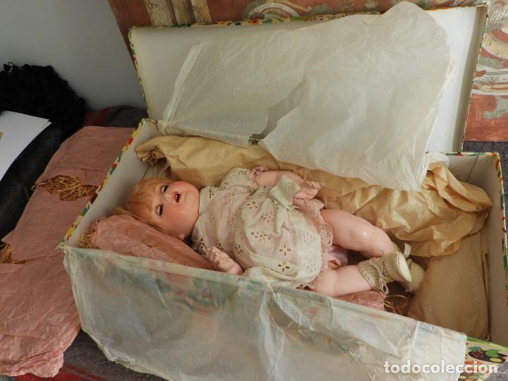 Muñecas Celuloide: FANTASTICA MUÑECA ANTIGUA ALEMANA MARCADA GERMANY EN LA NUCA - Foto 2 - 209182883