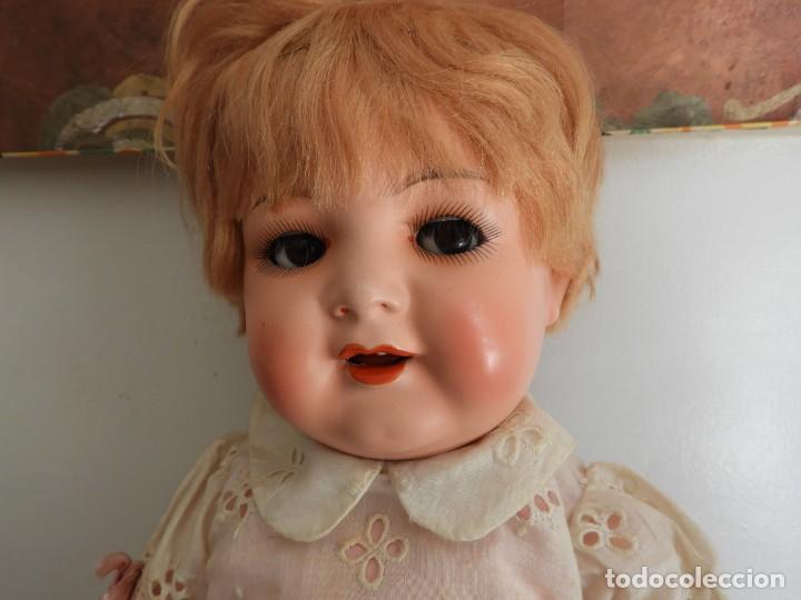 Muñecas Celuloide: FANTASTICA MUÑECA ANTIGUA ALEMANA MARCADA GERMANY EN LA NUCA - Foto 3 - 209182883