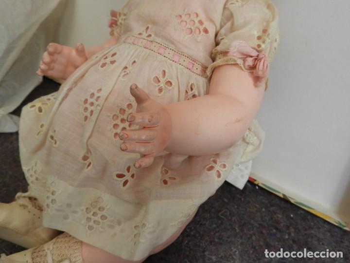 Muñecas Celuloide: FANTASTICA MUÑECA ANTIGUA ALEMANA MARCADA GERMANY EN LA NUCA - Foto 4 - 209182883
