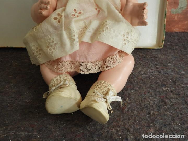Muñecas Celuloide: FANTASTICA MUÑECA ANTIGUA ALEMANA MARCADA GERMANY EN LA NUCA - Foto 6 - 209182883