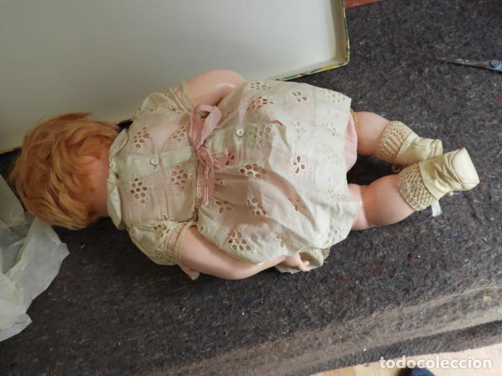 Muñecas Celuloide: FANTASTICA MUÑECA ANTIGUA ALEMANA MARCADA GERMANY EN LA NUCA - Foto 7 - 209182883