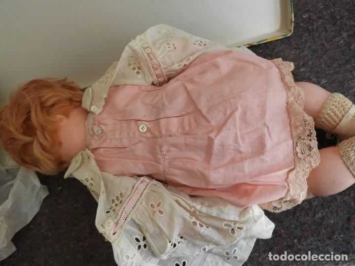 Muñecas Celuloide: FANTASTICA MUÑECA ANTIGUA ALEMANA MARCADA GERMANY EN LA NUCA - Foto 9 - 209182883