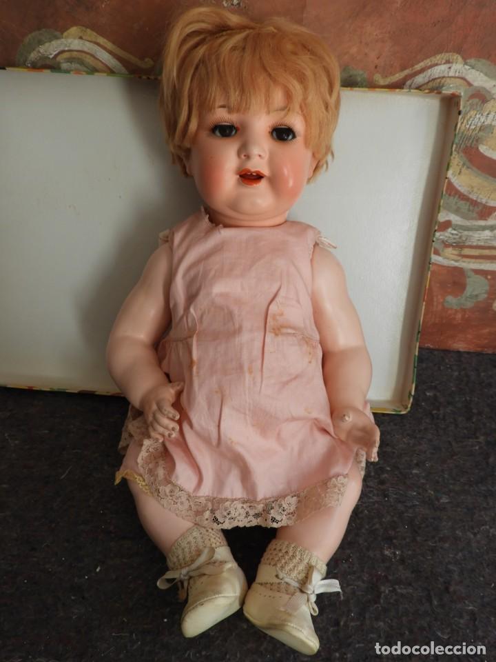 Muñecas Celuloide: FANTASTICA MUÑECA ANTIGUA ALEMANA MARCADA GERMANY EN LA NUCA - Foto 10 - 209182883
