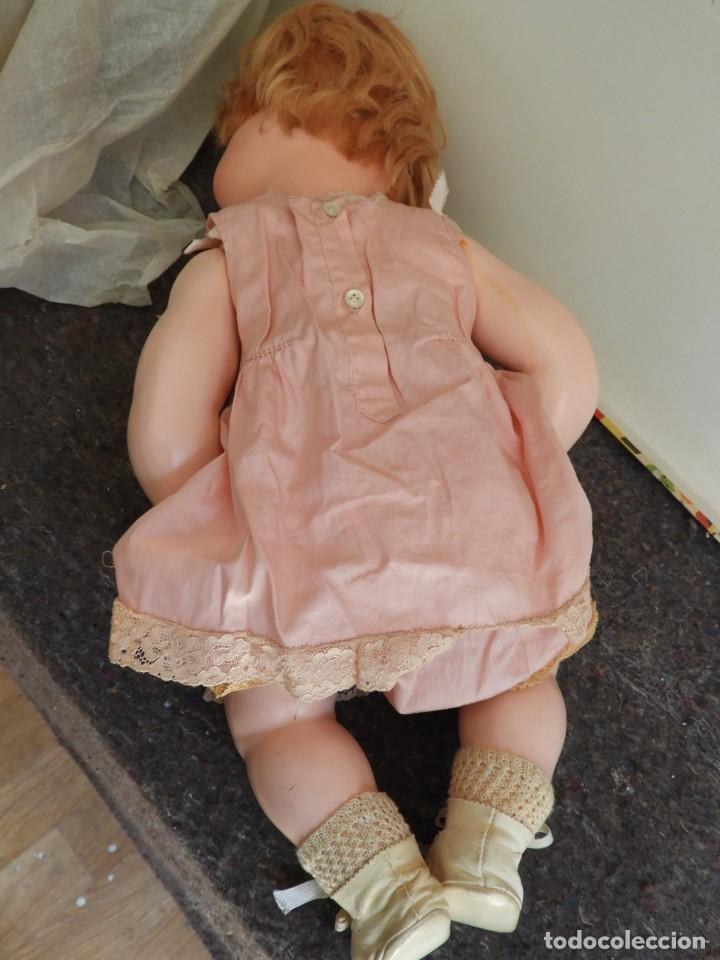 Muñecas Celuloide: FANTASTICA MUÑECA ANTIGUA ALEMANA MARCADA GERMANY EN LA NUCA - Foto 12 - 209182883