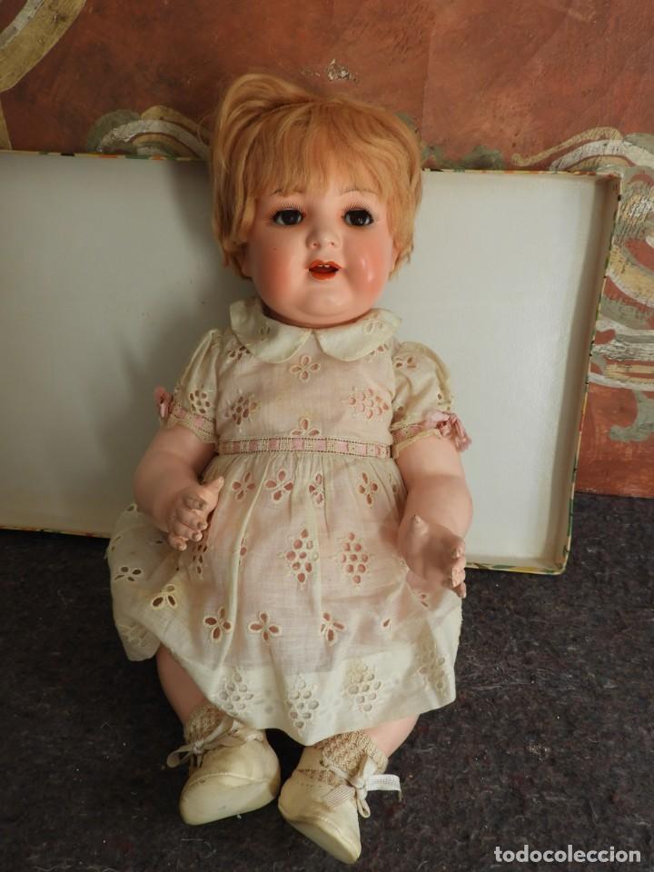 Muñecas Celuloide: FANTASTICA MUÑECA ANTIGUA ALEMANA MARCADA GERMANY EN LA NUCA - Foto 17 - 209182883