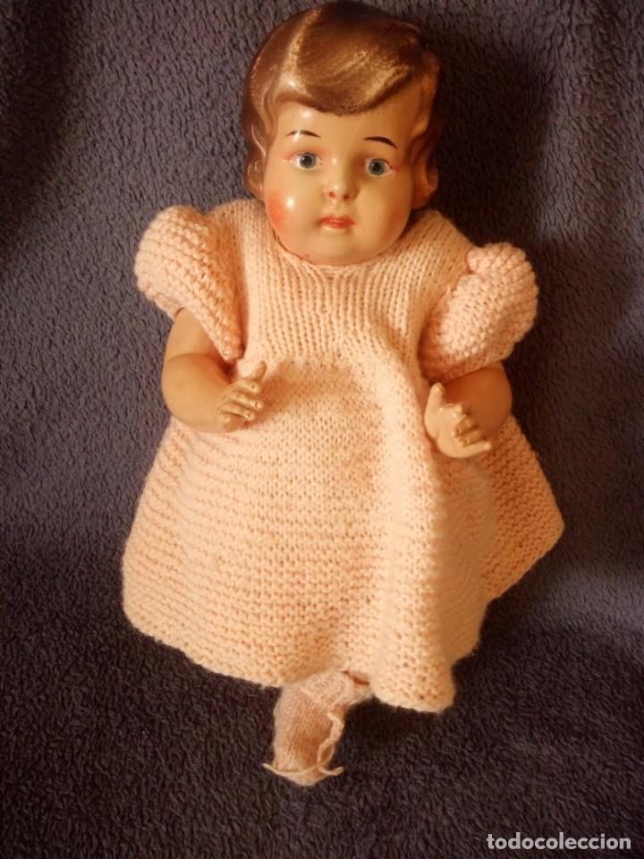Muñecas Celuloide: MUÑECA bebe MARCA BRUNO SCHMIDT SCHUTZ MARKE , 36 GERMANY,celuloide - Foto 2 - 211701764
