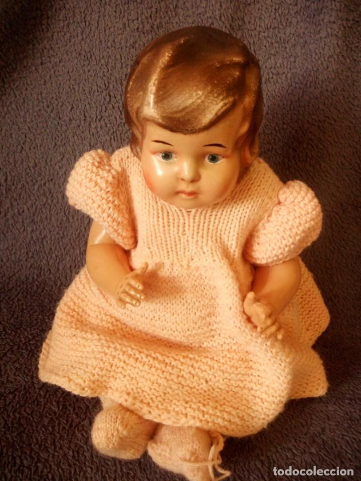 Muñecas Celuloide: MUÑECA bebe MARCA BRUNO SCHMIDT SCHUTZ MARKE , 36 GERMANY,celuloide - Foto 3 - 211701764