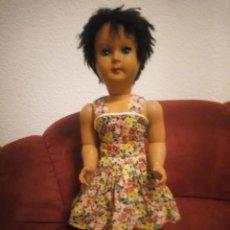 Muñecas Celuloide: ANTIGUA MUÑECA ITALIANA CARES DE BREVETTI SEBINO LA BAMBOLA ITALIANA,MORENA PELO CORTO. Lote 211727711