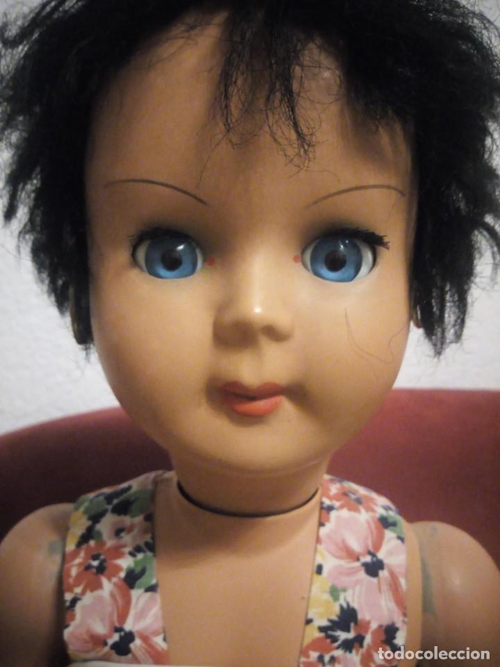 Muñecas Celuloide: ANTIGUA MUÑECA ITALIANA CARES DE BREVETTI SEBINO LA BAMBOLA ITALIANA,morena pelo corto - Foto 5 - 211727711