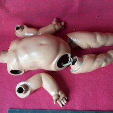 Muñecas Celuloide: CUERPO BRAZOS Y PIERNAS , MUÑECO ALEMAN BAQUELITA. Lote 213391705