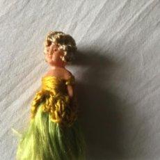 Muñecas Celuloide: ANTIGUA MUÑECA DE MODERNISTA , EN CELULOIDE , SELLADA ALEMANA. Lote 213572838